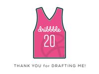 Dribbble Draftshot