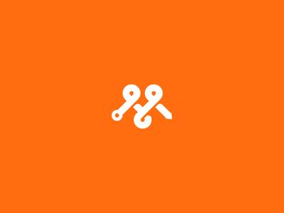 Mmap map m mark icon logo