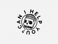 Can I Help You X Skull