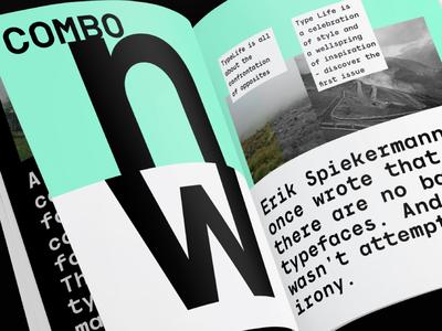 Dexford Typefamily print magazine graphic typefamily typography