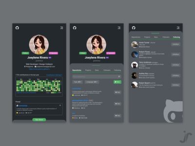 Github designs, themes, templates and downloadable graphic elements