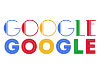 1950s Google Logo