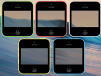 iPhone 5c Style Icons