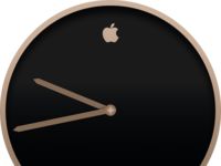 Apple + Movado Champagne Watch WIP