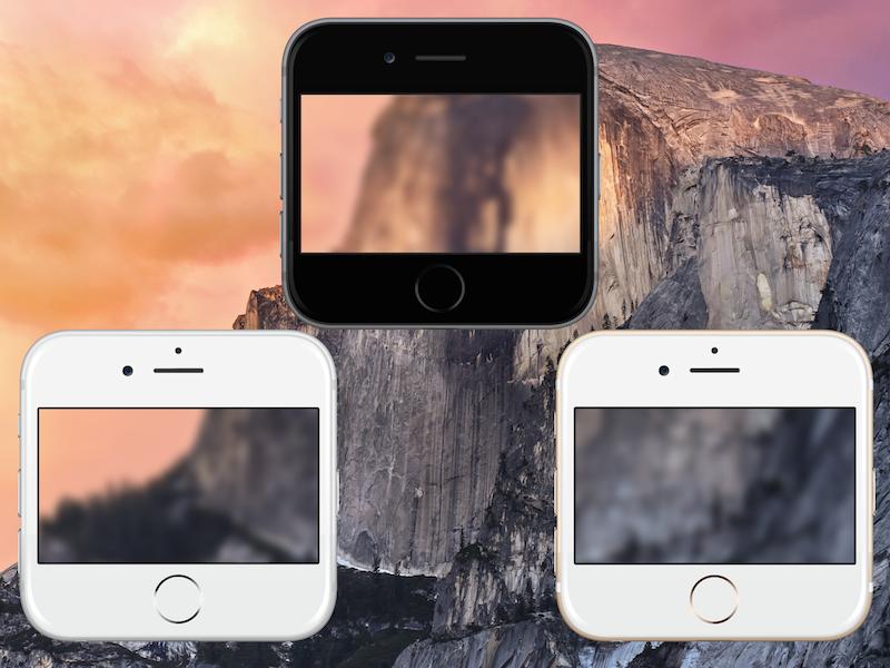 iPhone 6 Icons ios osx iphone icon blur ios 8