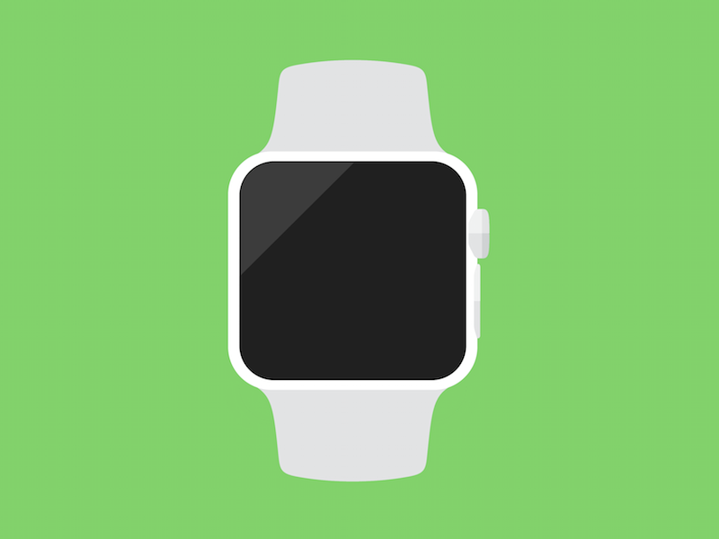 Flat Apple Watch Icon ios apple icon watch flat