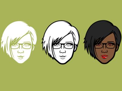 Face Design Progression