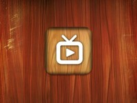 Wooden YouTube iOS iCon