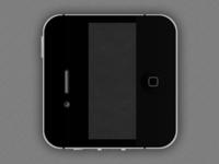 Black iphone dribbble