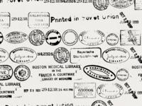 Stamps Background Illustration