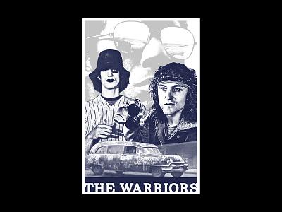 Warriors 1/1 poster art poster texture layout