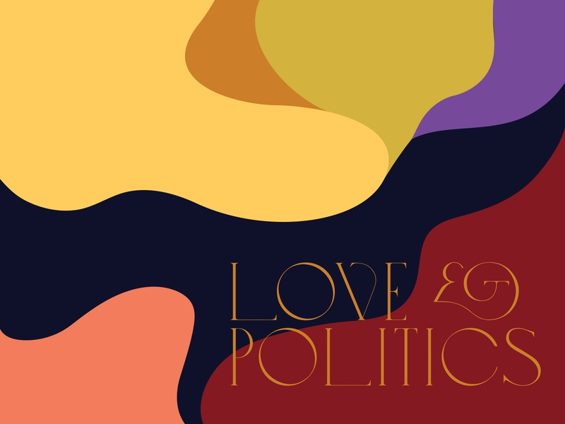 Love & Politics study organic illustration color palette