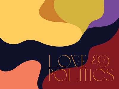 Love & Politics study organic illustration color palette