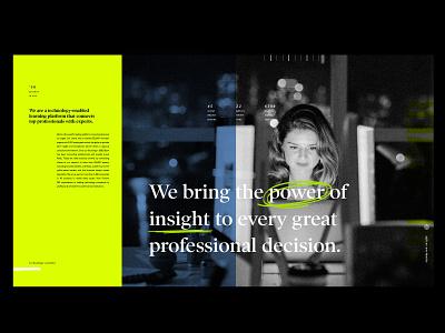 Expression study brand design digital layout illustration texture layering website color palette