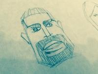 Man Face Sketch