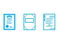 Real Estate Document Icons