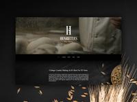 Bakery website concept