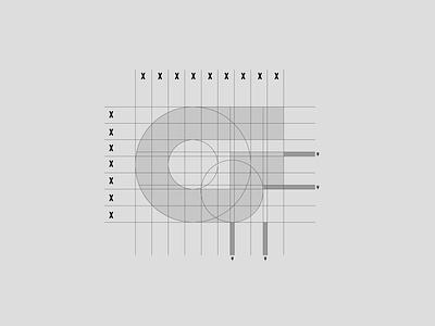 Griffith Bros Logo Grid illustration branding grid logo