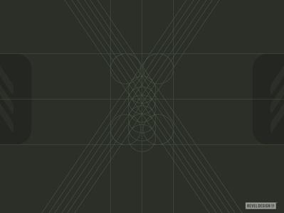 upcoming project logo grid design branding gridsystem logo
