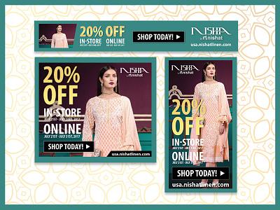 Banner Ads ux ecommerce digital design graphic ads display advertising banner
