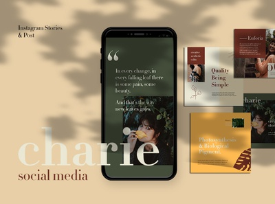 Charie Instagram Template