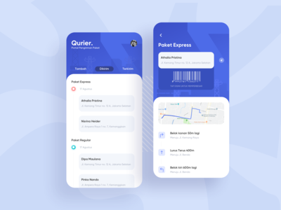 Exploration | Delivery App for Courier