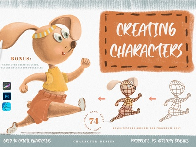 Grids for Creating Cute Characters character generator
