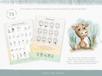 Grids for Creating Cute Characters character illustration character generator