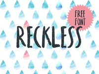 Reckless - Free Brush Font
