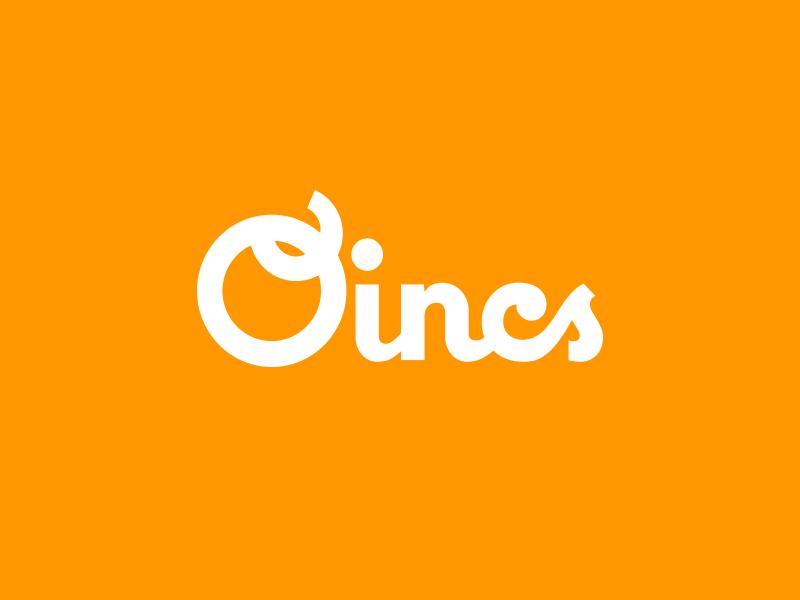 Oincs logo logo oincs transit app brand