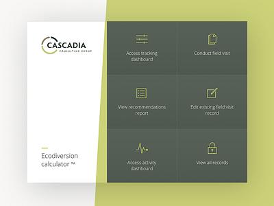 Cascadia - Eco-Diversion Calculator app citrusbyte green recycling ipad app