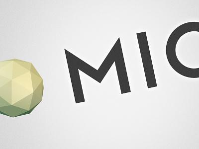 Logo Concept logo lowpoly concept grain globe ball polygons