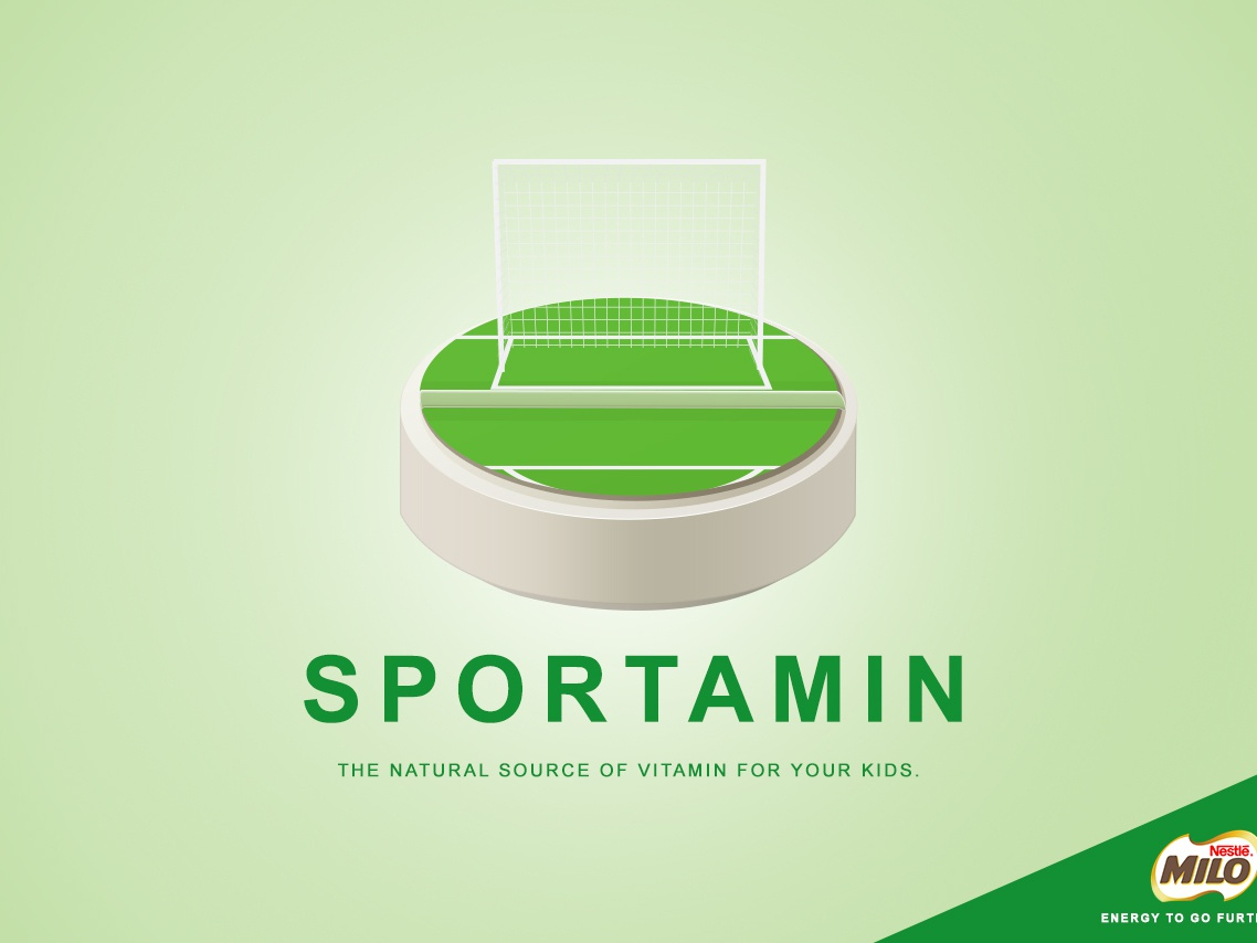 sportamin flat branding vector design illustration