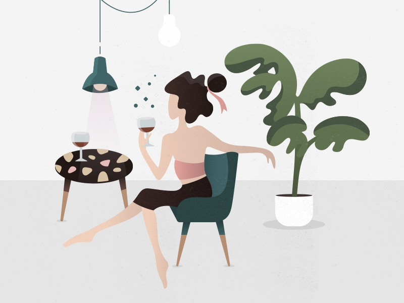 Weekend illustration