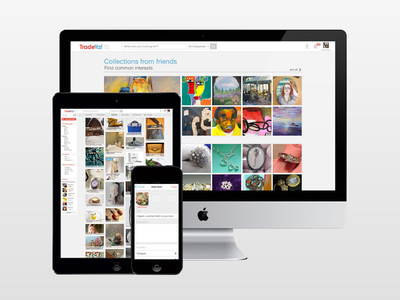 Tradeya Dribblbe Shot mobile web app design ux ui marketplace sales trade