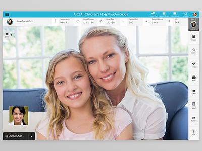 Video Consult app design mobile ui ux