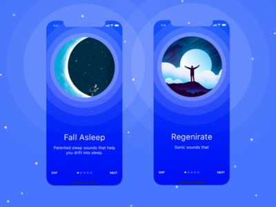 Sleep Sonic Walkthrough Play ux design app  design ios app mobile design ui ux