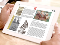 UI design interactive book