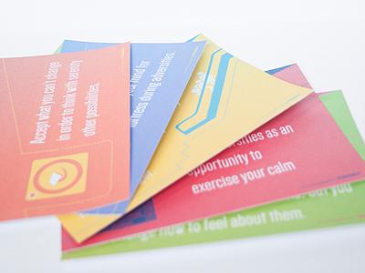 Tube flyers philosophy stoicism graphic print visual design brochures flyers