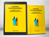 Book cover - Stoicism and buddhism