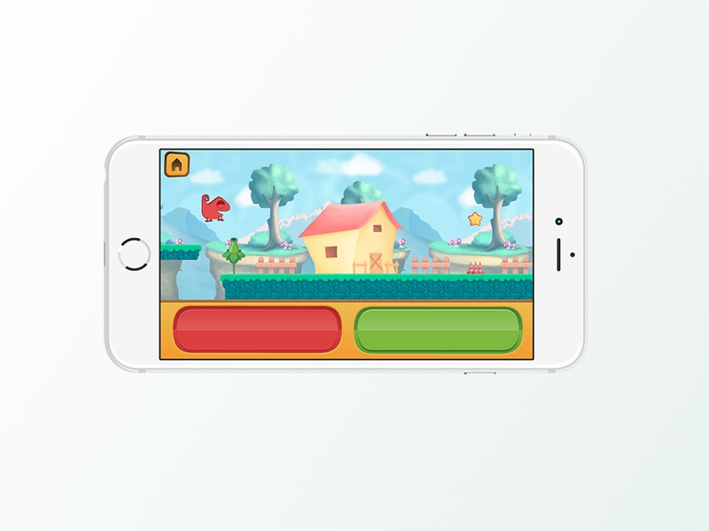 Go Go Chameleon asset design visual design ui ux concept art graphic design premium game mobile videogame