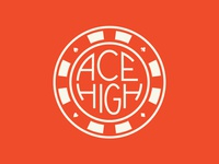 Ace High - Poker Chip