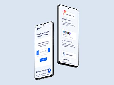 Driveme - Web Application branding funnel mobile modern website mockup application ux ui