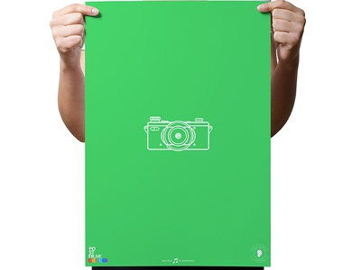 SELFIE ME - POSTER poster frame picture selfie photo say cheese print