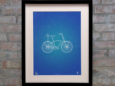 POSTER - PEGAS BICYCLE bicycle poster print frame childhood pegas