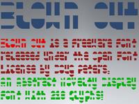 Blown Out Font Sampling