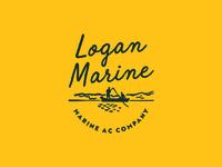 Logan Marine Logo