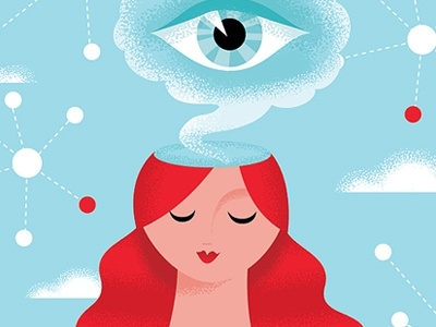 The Science of Intuition editorial spirituality eye intuition character