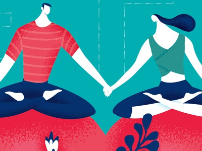 Characters characters people relationship love yoga