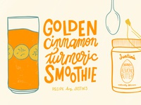 Golden Cinnamon Turmeric Smoothie